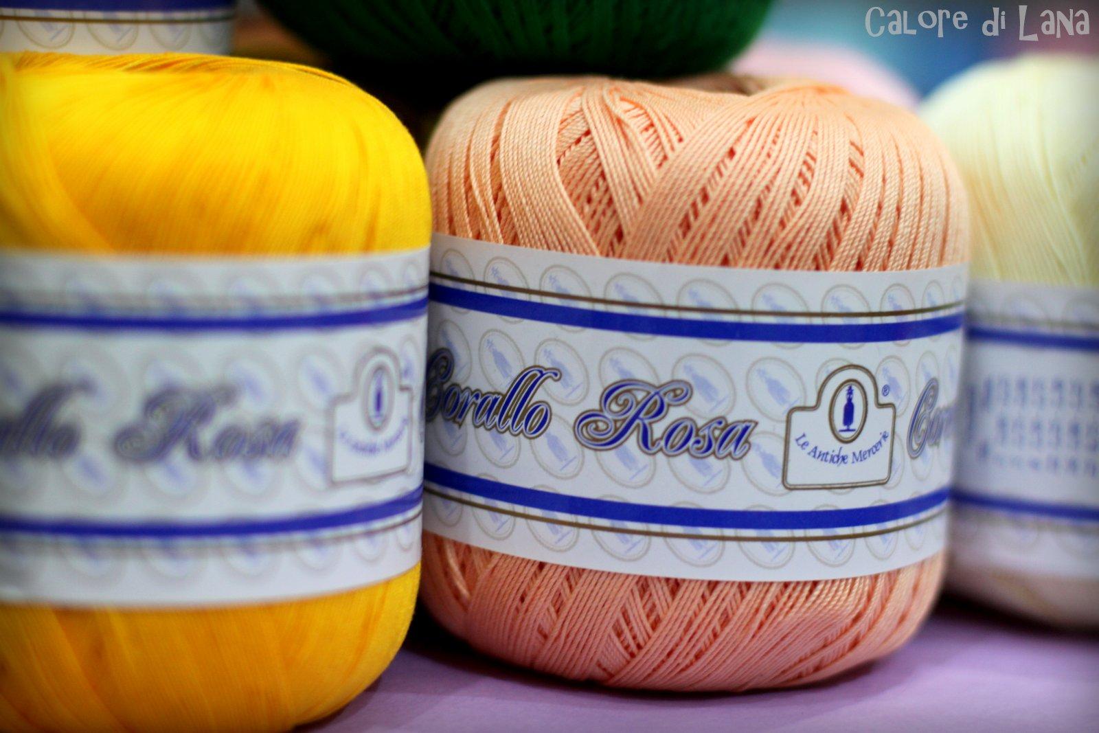 Cotone Filo di Scozia Corallo Rosa Le Antiche Mercerie - Calore di Lana
