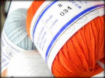 Filo di Scozia Cotone Corallo Rosa - Calore di Lana