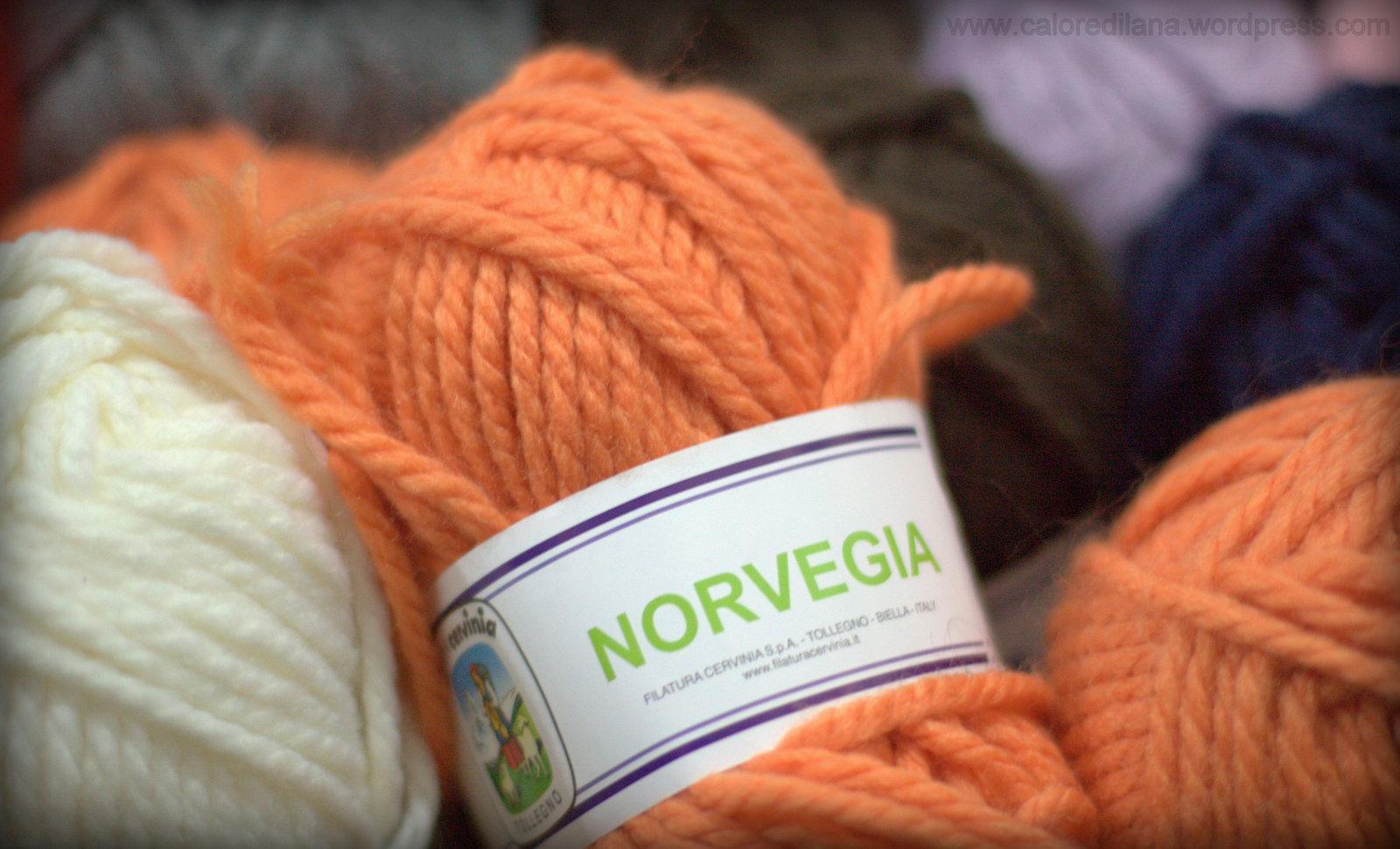 Lana Cervinia Norvegia, 50% lana 50% acrilico