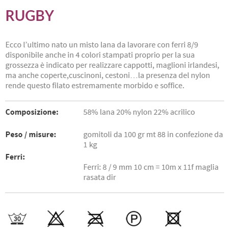composizione rugby