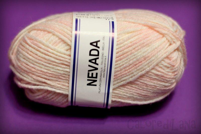 Lana Cervinia Nevada color - Calore di Lana