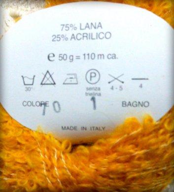 Filati Irlanda, 75% lana 25% acrilico