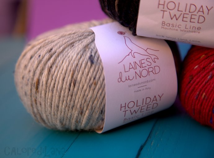 Holiday Tweed Laines du Nord - Calore di Lana