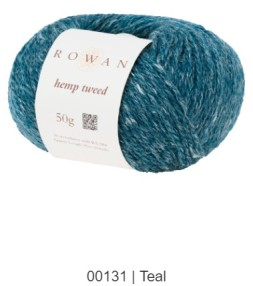Col. 131 Rowan Hemp Tweed - Calore di Lana - www.caloredilana.com