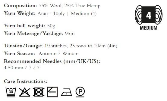composizione hemp tweed