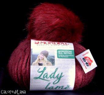 Lady Lamè Mondial - Calore di Lana Merceria www.caloredilana.com