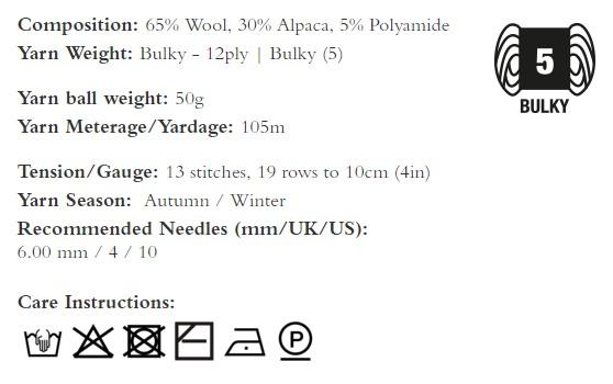 descrizione rowan brushed fleece