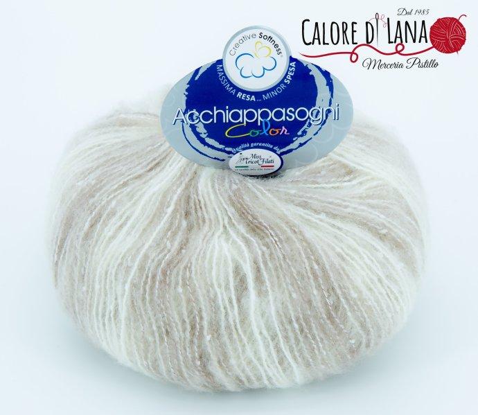 Col. 01 - Acchiappasogni Color - Miss Tricot Filati - Calore di Lana www.caloredilana.com