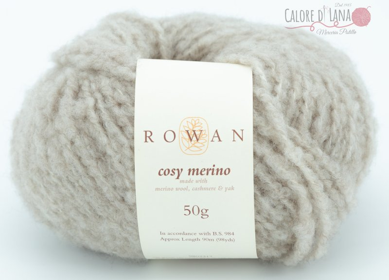 Cosy Merino Rowan - Calore di Lana www.caloredilana.com